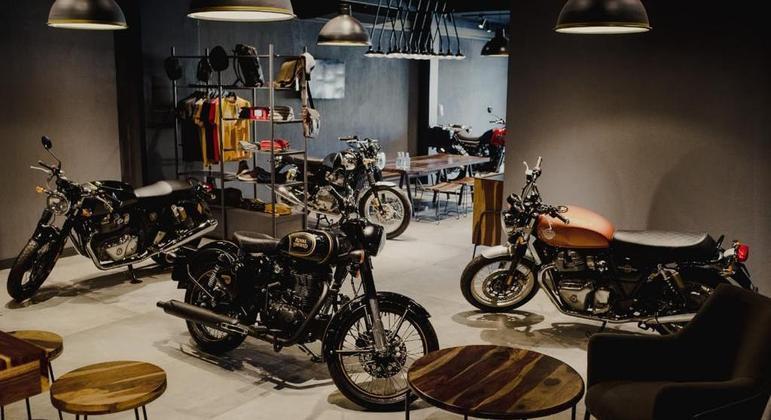 No ano passado foram emplacadas 2.393 motocicletas Royal Enfield no país
