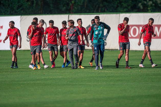 Com o elenco principal de férias, o Flamengo jogará as primeiras rodadas do Carioca com um time repleto de jovens e caras novas para a torcida. Confira, a seguir, as fotos dos 29 jogadores inscritos pelo Rubro-Negro no início do torneio.