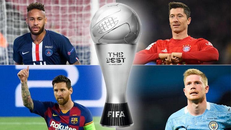 Com o fim da temporada europeia, a única disputa ainda em aberto é pelo prêmio de Melhor Jogador do Mundo, realizado pela Fifa. Apesar de ainda não ter uma data definida, a expectativa é que o vencedor seja conhecido entre setembro e outubro. Pensando nisso, veja uma lista com os nomes que podem sonhar com o troféu 'The Best'