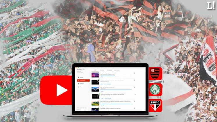 Com o sucesso do Flamengo em seu canal, e sua transmissão com recordes, clubes buscam minimizar efeitos da pandemia com seus canais no Youtube - a final da Taça Rio, entre Fluminense x Flamengo, foi o evento com maior audiência simultânea no canal. Confira o ranking dos clubes com mais seguidores no aplicativo segundo o estudo do Ibope Repucom