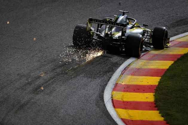 Com o P4, Ricciardo igualou a melhor posição de largada dele na Renault (Foto: Renault)