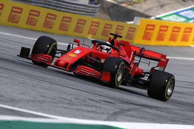Com o resultado, Vettel continua com apenas um ponto marcado na temporada 2020