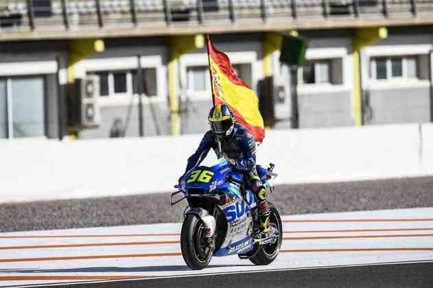 Com o triunfo já no final do ano, o espanhol e mais novo campeão da MotoGP se tornou o novo vencedor diferente da temporada de 14 etapas