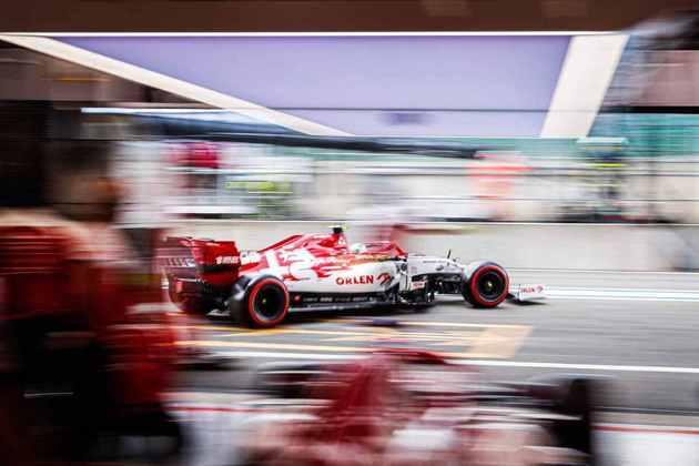 Com os problemas do motor Ferrari, chances da Alfa Romeo são pequenas (Foto: Alfa Romeo)