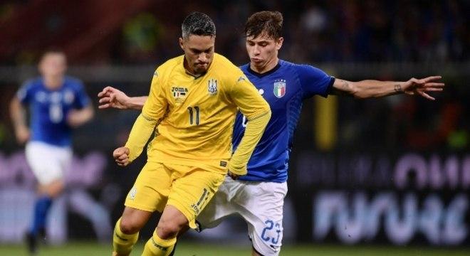 Com passagens por Coritiba e São Paulo, o atacante Marlos está na Ucrânia desde 2011. Pela seleção europeia, atuou em 12 partidas. (Reprodução)