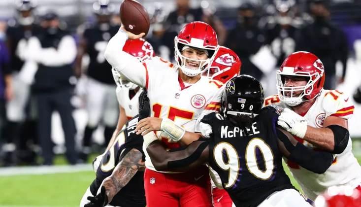 Com Patrick Mahomes no comando, o Kansas City Chiefs vem forte em busca do bicampeonato na NFL.