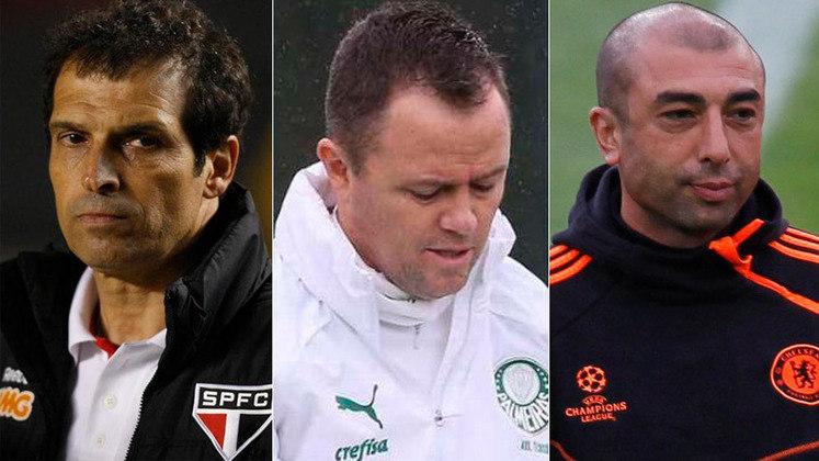 Com quatro jogos no comando do Palmeiras após a saída de Luxemburgo, Andrey Lopes tem conquistado a torcida alviverde. Dessa forma, o LANCE! montou uma galeria com técnicos interinos que conseguiram dar conta do recado e segurar a pressão.