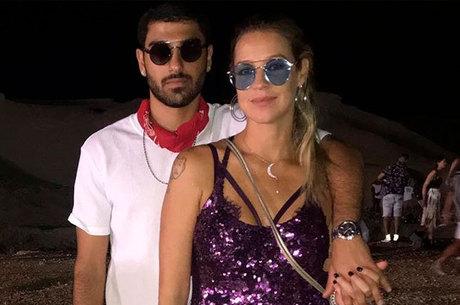 Luana Piovani e Ofek Malka, novo namorado da atriz