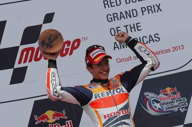 Com vitória no Circuito das Américas, Marc Márquez se tornou o mais jovem a triunfar na classe rainha