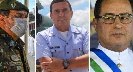 Paulo Sérgio, Baptista Júnior e Almir Garnier