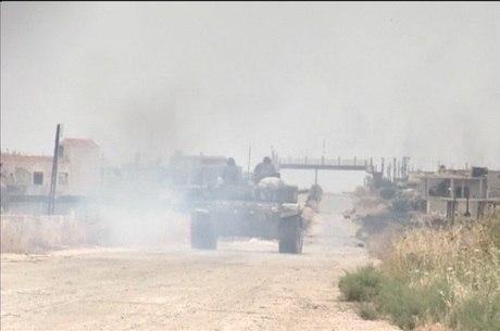 Conflitos no norte da Síria continuam neste sábado