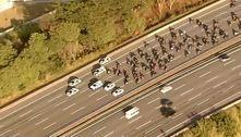 Após 2 horas de interdição, pista da rodovia dos Bandeirantes é liberada