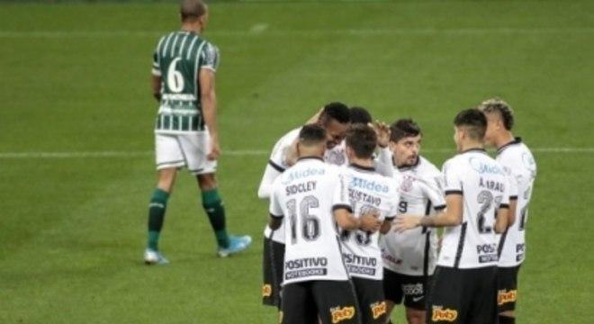 Comemoração - Corinthians x Coritiba