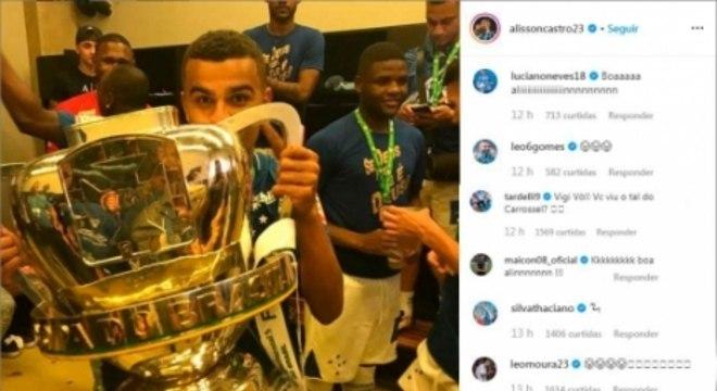 Comentários Instagram - Alisson (Grêmio)