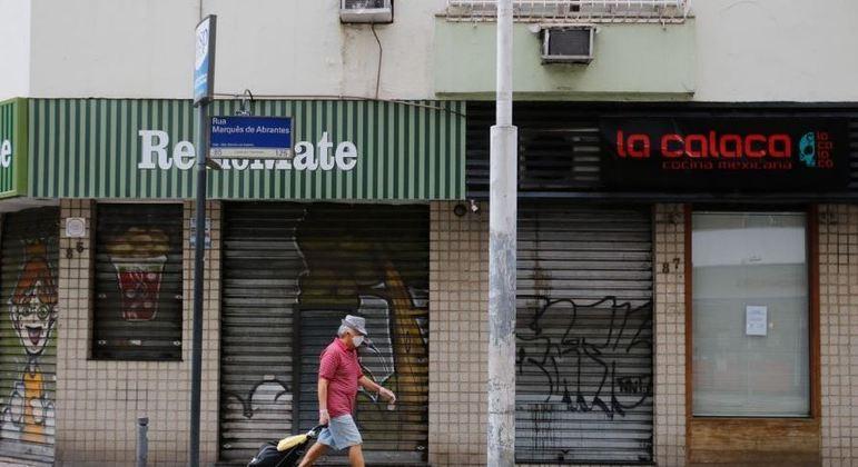 Araraquara, no interior de São Paulo, adotou o lockdown devido à lotação de leitos nas UTIs