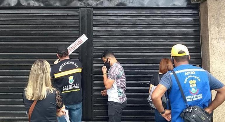 Lojistas querem reabertura do comércio em Belo Horizonte