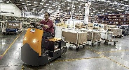 Comércio online garantiu produção das fábricas