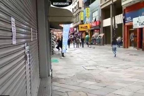 Porto Alegre vai abrir lojas, mas deixa igrejas fechadas