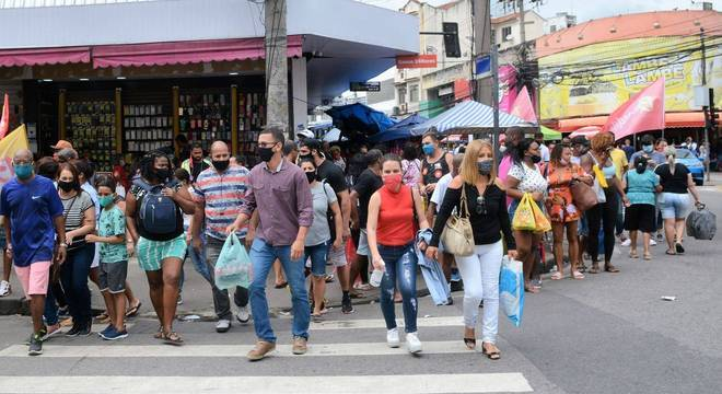Comércio de Madureira, na zona norte do Rio de Janeiro