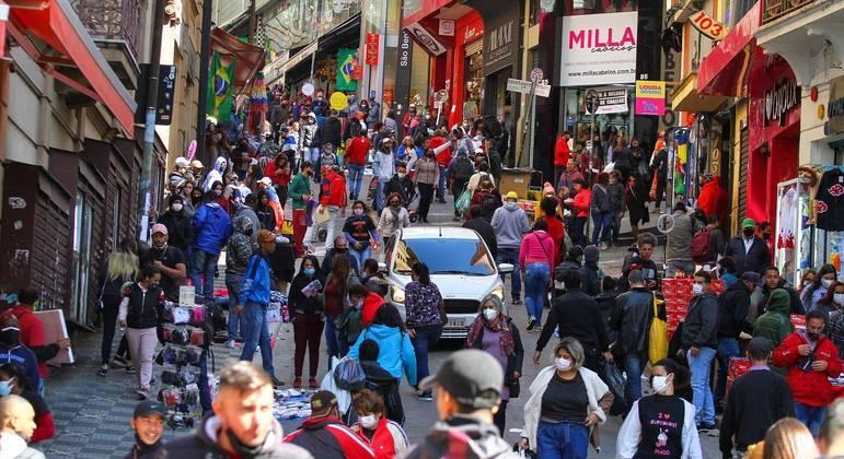 Capacidade de ocupação passa de 60% para 80% neste domingo (1º)