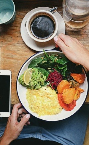 Alimentos repõem as energias