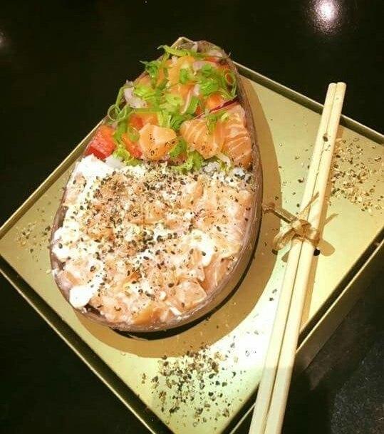 Resultado de imagem para ovo de páscoa de sushi