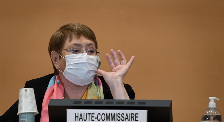 Alta Comissária das Nações Unidas para os Direitos Humanos, Michelle Bachelet