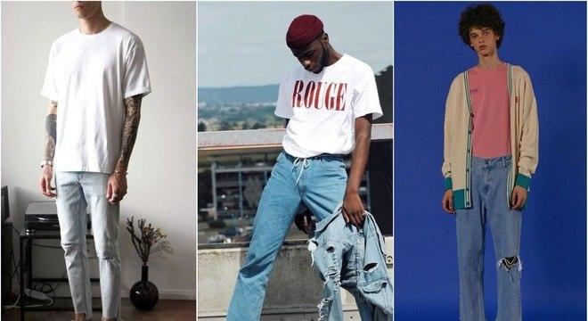 Como usar jeans com camiseta