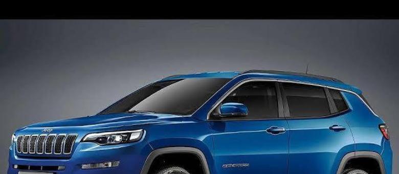 Projeção do visual renovado para o SUV Compass que pode ganhar o motor 1.3 turbo de 150cv