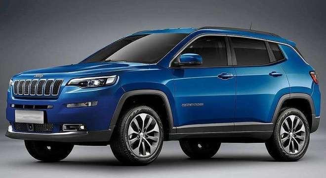 O esperado facelift do Jeep Compass também acontecerá em 2021