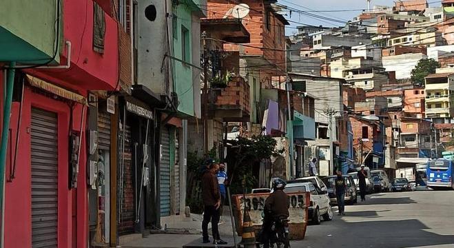 Comunidade Futuro Melhor, na zona norte de São Paulo