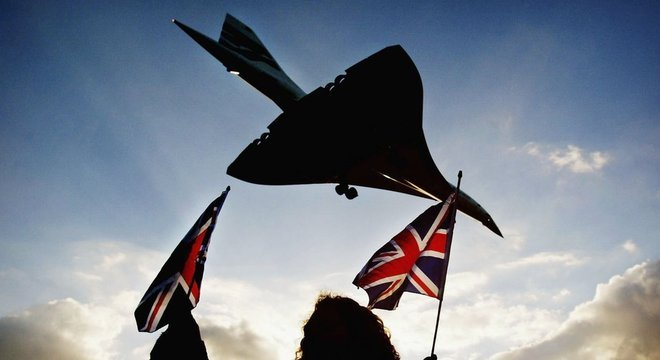 A última experiência com um avião comercial hipersônico foi a do Concorde, que fez seu último voo em 2003 Mais rápido