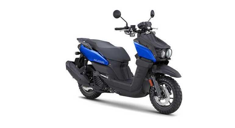 Motocicleta tem o peso de 127 kg