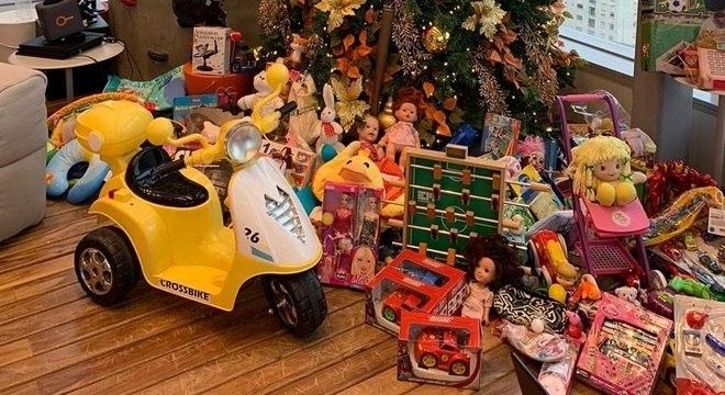 Brinquedos estão sendo recolhidos desde o dia 2 de dezembro