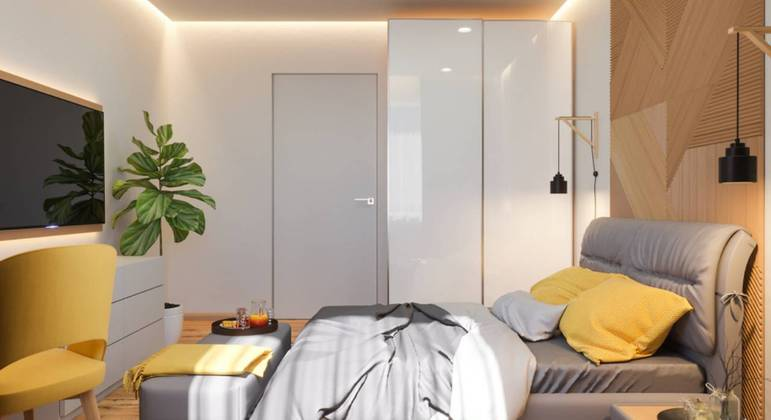 Confira 5 dicas para ampliar quartos pequenos de casal