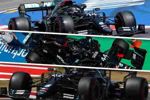 Confira as imagens da classificação para o GP da Espanha 2020