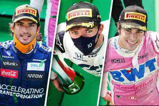 Confira as imagens do GP da Itália, disputado em Monza