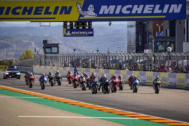 Confira as imagens do GP de Aragão da MotoGP