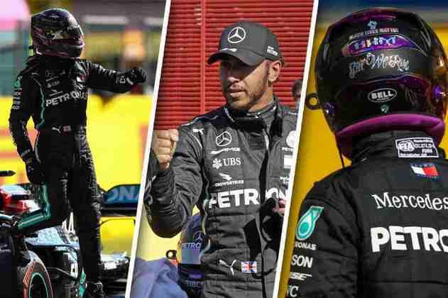 Confira as melhores imagens da Fórmula 1 neste sábado no GP da Toscana
