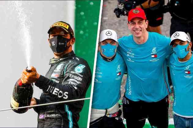 Confira as melhores imagens do GP da Emília-Romanha de Fórmula 1