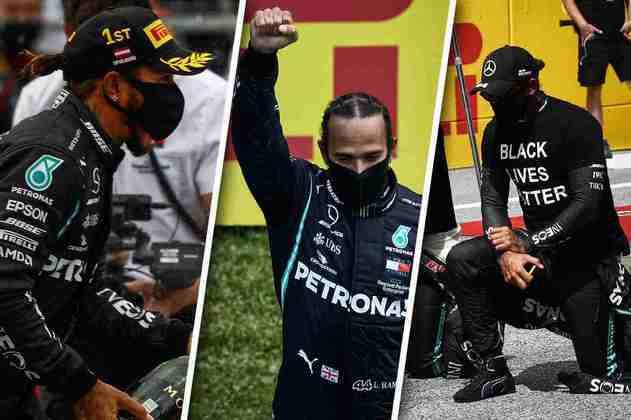Confira as melhores imagens do GP da Estíria, segunda etapa da Fórmula 1 em 2020