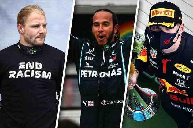 Confira as melhores imagens do GP da Hungria 2020 de Fórmula 1