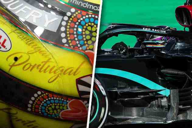 Confira as melhores imagens do primeiro dia de treinos da Fórmula 1 em Portimão (Por Grande Prêmio)
