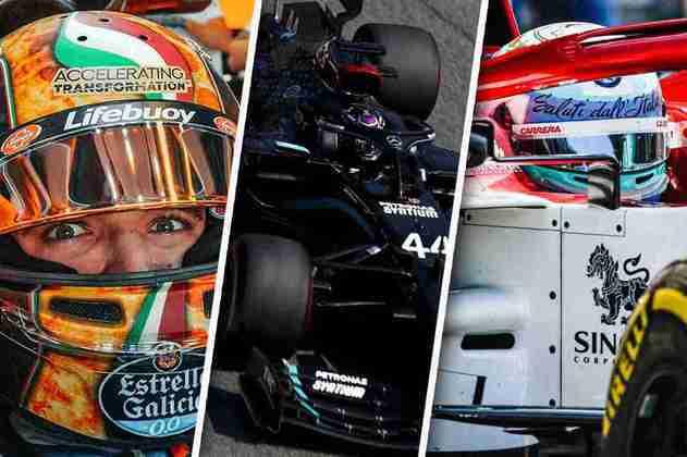 Confira as melhores imagens do primeiro dia de treinos da Fórmula 1 na Itália