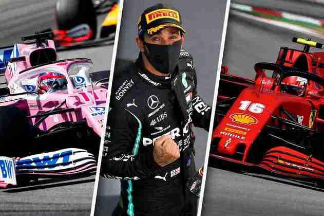 Confira imagens do GP da Espanha de Fórmula 1 2020