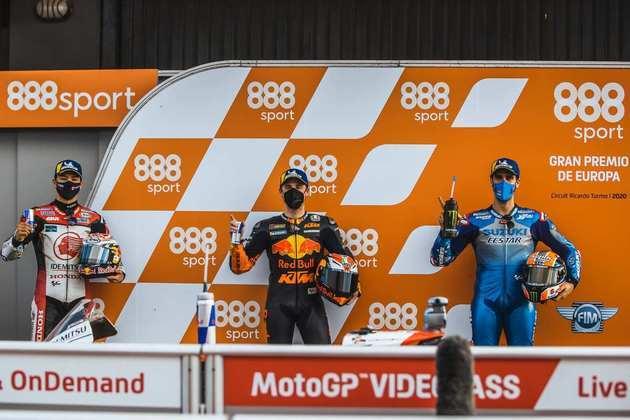 Confira o grid de largada do GP da Europa da MotoGP