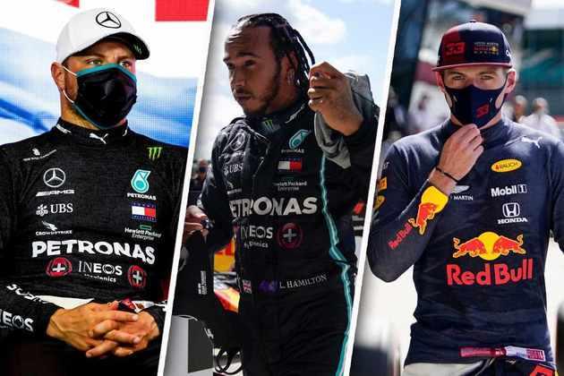 Confira o grid de largada do GP da Inglaterra de F1 2020