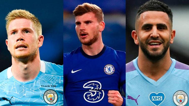 A final da Liga dos Campeões se aproxima. No sábado (29), Manchester City e Chelsea se enfrentam, e ambos os times contam com alguns dos melhores jogadores do mundo. Confira os 20 jogadores da final com maior valor de mercado, segundo o portal Transfermarkt