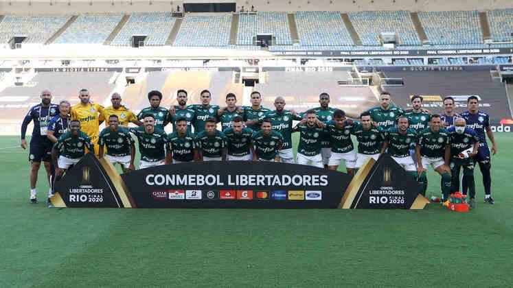 Confira quem entrou em campo pelo Palmeiras na caminhada do bicampeonato da Copa Libertadores. (Por Nosso Palestra)