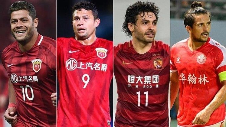 Confira também a lista de jogadores brasileiros que conseguiram voltar à China e já estão treinando em seus clubes. Com o possível fechamento das fronteiras, esses atletas continuarão em seus clubes na temporada.